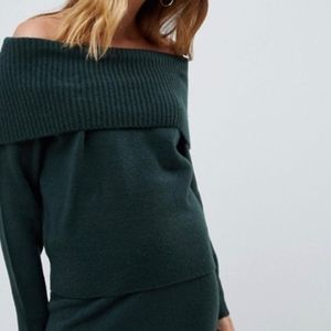 Brigitte Bardot Neck Sweater